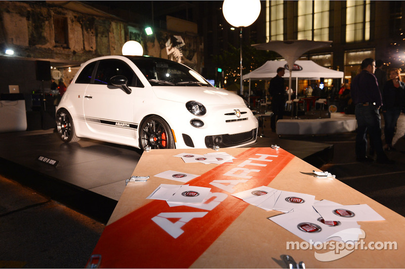 Fiat 500 ten toon op het Austin Fan Fest