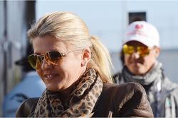 Corinna Schumacher, and Michael Schumacher, Mercedes AMG F1