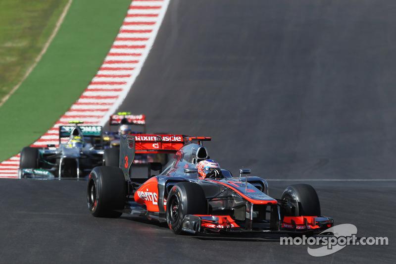 Jenson Button, McLaren MP4/27