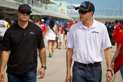 David Gilliland, Front Row Motorsports Ford and David Ragan, Front Row Motorsports Ford