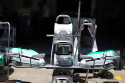 Mercedes AMG F1 W03 front wing