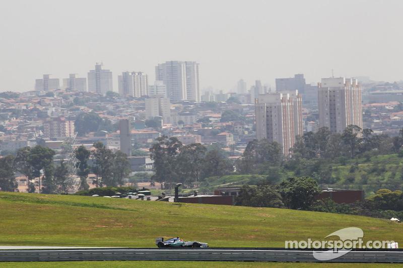Михаэль Шумахер. ГП Бразилии, Первая пятничная тренировка.
