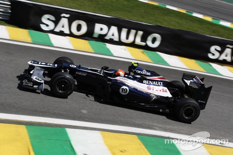 Бруно Сенна. ГП Бразилии, Вторая пятничная тренировка.