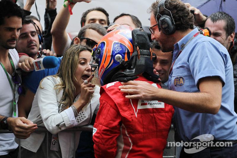 Фелипе Масса. ГП Бразилии, Воскресенье, после гонки.