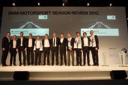 BMW Sports trophy award ceremony