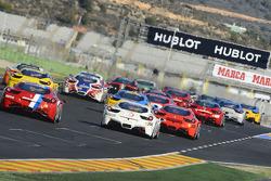 Coppa Shell, Europe race 2 start