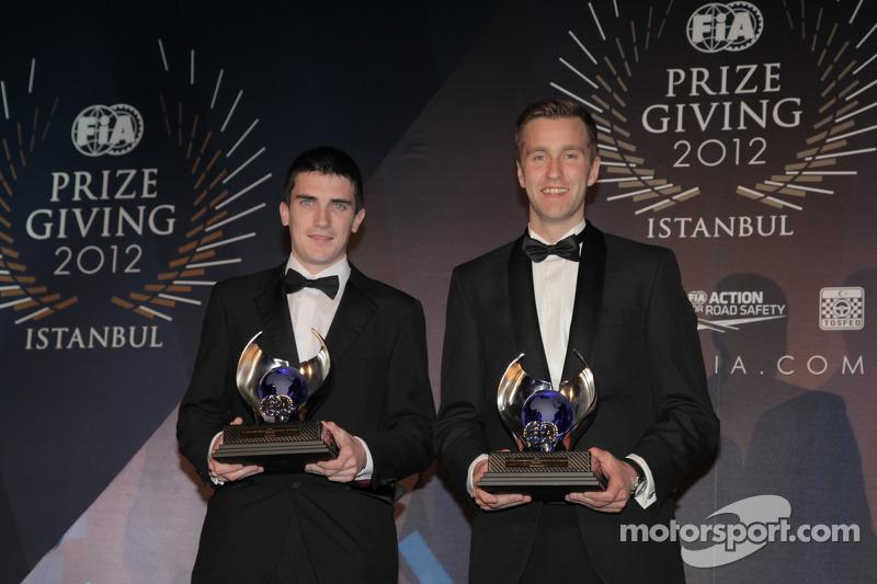 Эмиль Аксельссон и Крэг Брин. Церемония награждения FIA, Стамбул, Турция, Особое мероприятие.