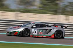 #47 ASM Team McLaren MP4-12C: Alvaro Parente, Rob Bell, Karim Ojjeh
