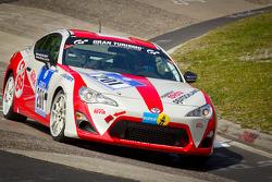 #201 Toyota Swiss Racing Toyota GT86: Peter Wyss, Lorenz Frey, Rolf Maritz, Klaus Völker