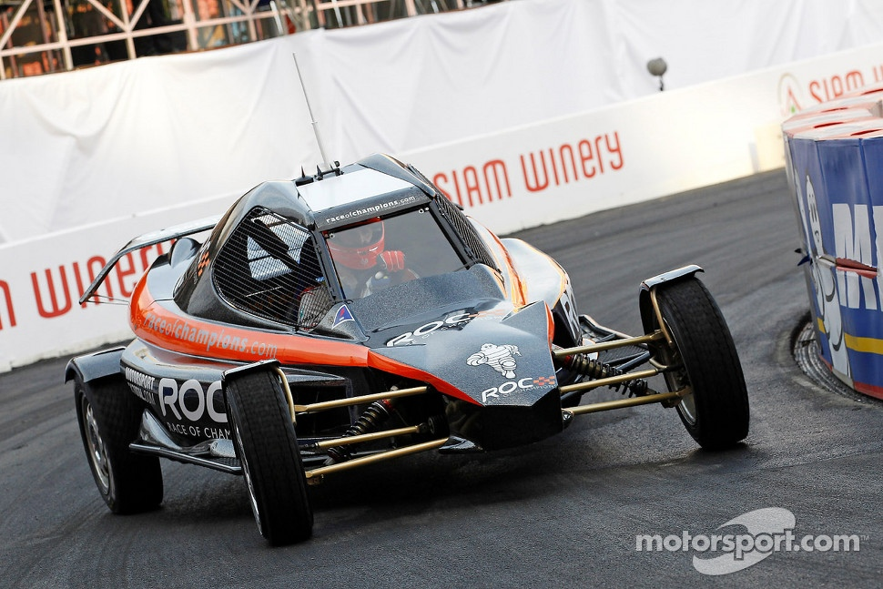 RoC Car, that has an 1100cc engine with 170 hp, home build specially for the Race of Champions.