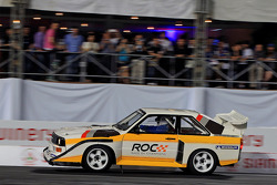 Stig Blomqvist drives an Audi Quattro