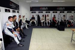 Drivers locker room
