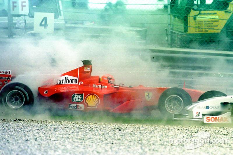 Accidente de Michael Schumacher en Austria