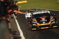 Sieg für Gordon Shedden, Halfords Yuasa Racing Honda Civic Type R