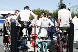 Nelson Piquet Jr., NEXTEV TCR Formula E Team, durng the drivers parade