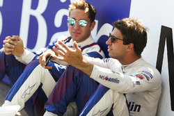 Antonio Felix da Costa, Amlin Andretti Formula E Team, and Robin Frijns, Amlin Andretti Formula E Team