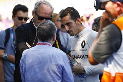 Sébastien Buemi, Renault e.Dams, mi Jean Todt, FIA-Präsident