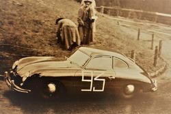 Alfred Lienhard, Porsche 356 Pre-A, Bergrennen Kandersteg-Mitholz