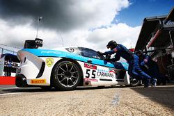 #55 HHC Motorsport Ginetta G55 GT4: William Tregurtha, Stuart Middleton