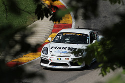 #21 Muehlner Motorsports America Porsche Cayman GT4: Moritz Kranz, Gabriele Piana