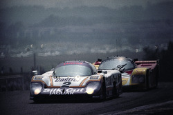 #2 Jaguar XJR-9LM Advanced: Jan Lammers, Johnny Dumfries, Andy Wallace