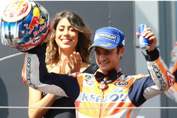 Podium : le troisième Dani Pedrosa, Repsol Honda Team