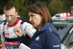 Kris Meeke, Citroën World Rally Team and Michelle Mouton