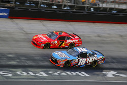 Justin Allgaier, JR Motorsports Chevrolet, Kyle Busch, Joe Gibbs Racing Toyota
