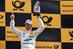 Podium: third place Maxime Martin, BMW Team RBM, BMW M4 DTM