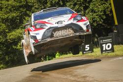 Юхо Хяннинен и Кай Линдстрём, Toyota Yaris WRC, Toyota Gazoo Racing WRC