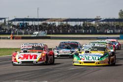 Mariano Werner, Werner Competicion Ford, Omar Martinez, Martinez Competicion Ford, Christian Ledesma, Las Toscas Racing Chevrolet