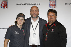 Andretti Autosport press conference with Zach Veach, Dan Towriss of Group One Thousand One, and Michael Andretti