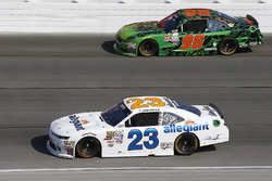 Spencer Gallagher, GMS Racing Chevrolet, Darrell Wallace Jr., Biagi-DenBeste Racing Ford