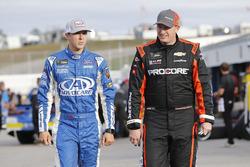 Michael McDowell, Leavine Family Racing Chevrolet Trevor Bayne, Roush Fenway Racing Ford