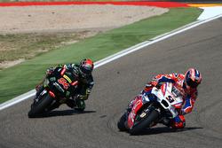 Данило Петруччи, Pramac Racing, и Йонас Фольгер, Monster Yamaha Tech 3