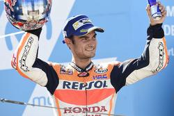 Подиум: обладатель второго места Дани Педроса, Repsol Honda Team