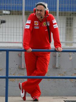 Luigi Mazzola, Ferrari Test Team Manager