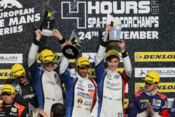 Winners James Allen, Gustavo Yacaman, Richard Bradley, Graff Racing