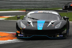 #5 SF Racing Ferrari 488 GT3: Fu Songyang, Gabriele Lancieri