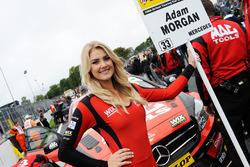 Grid kızı,  Adam Morgan, Ciceley Motorsport Mercedes Benz A-Class