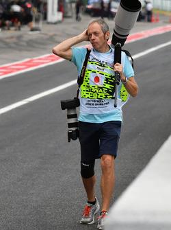 Фотограф агентства Getty Images Марк Томпсон