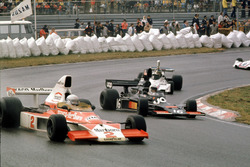 Jochen Mass,McLaren M23, Tom Pryce, Shadow DN5A