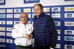 Press Conference: Masaki Bando, Chairman GTA and Gerhard Berger, ITR Chairman