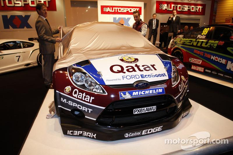 Мадс Остберг. Презентация Qatar M-Sport World Rally Team, особое событие.