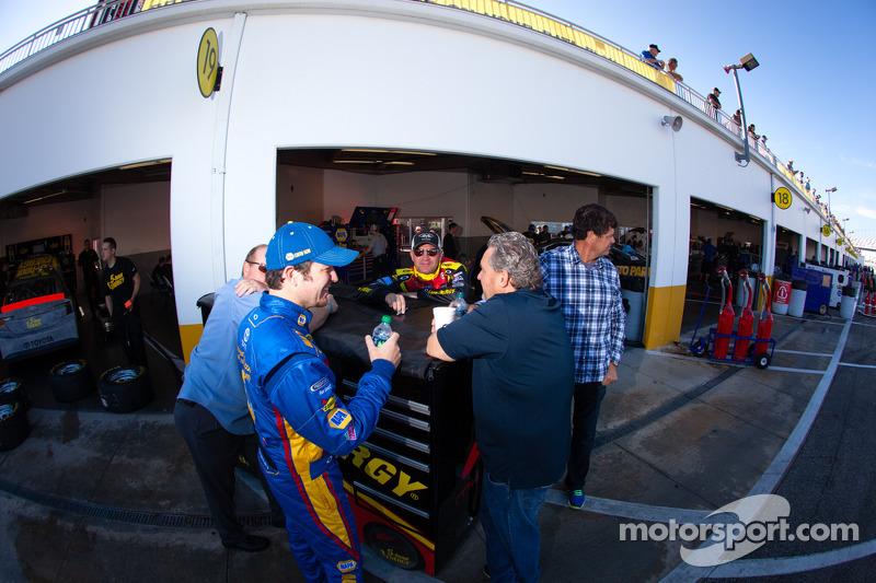 Clint Bowyer, Michael Waltrip Racing Toyota, Michael Waltrip en Martin Truex Jr., Michael Waltrip Ra