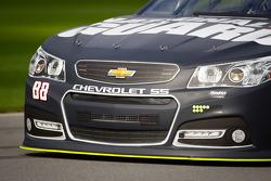 Dale Earnhardt Jr., Hendrick Motorsports Chevrolet, front end detail