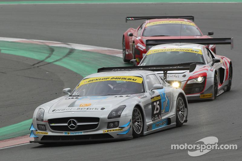 #25 Preci-Spark Mercedes SLS AMG GT3: David Jones, Geofrey Jones, Morgan Jones, Philip Jones, Gareth Jones