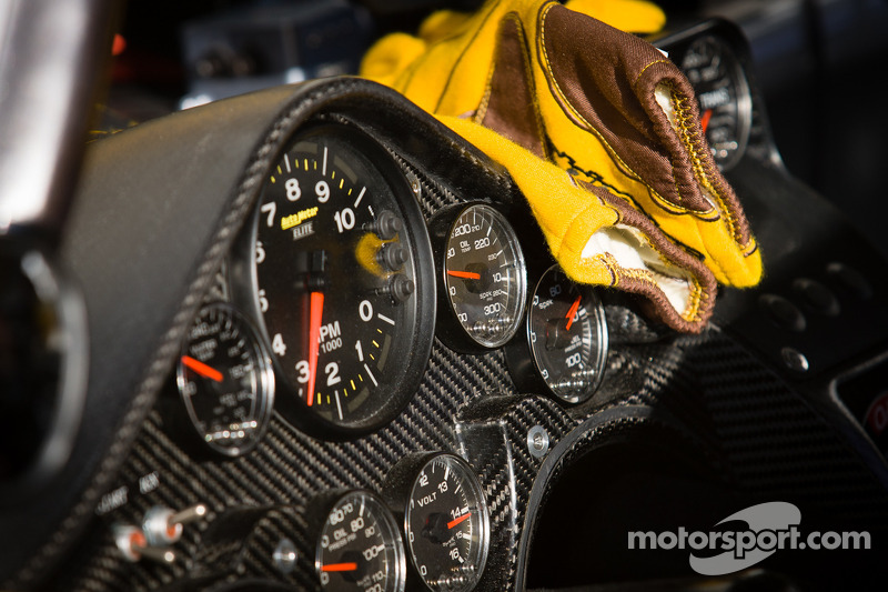 Instrument panel for Kyle Busch, Joe Gibbs Racing Toyota