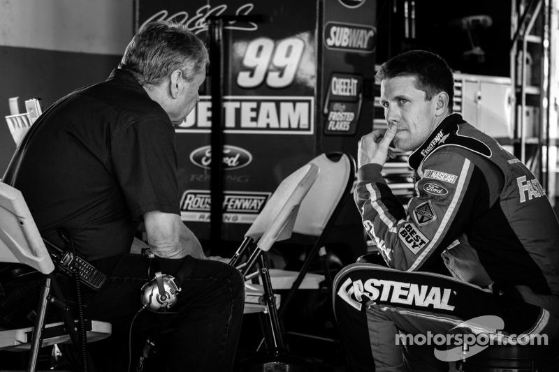 Carl Edwards, Roush Fenway Racing Ford en Jimmy Fennig