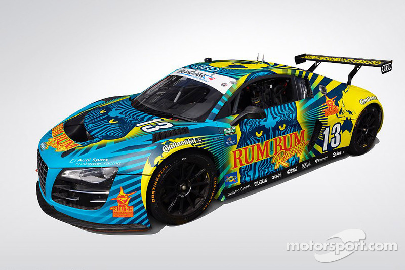 New paint-scheme for the Rum Bum Racing Audi R8